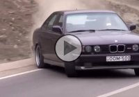 Giorgi Tevzadze recklessly street-drifts in traffic with his BMW M5!
