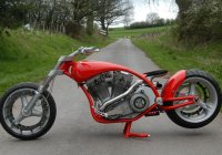 CAD 22 – Custom Krugger Motorcycle!