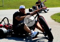 What's More Fun Than Drift Trikes?? Motorized Drift Trikes!!