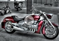 V6 Honda Motorcycle  -When Power & Beauty Come Together!