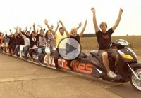 The World's Longest Scooter By Colin Furze!!