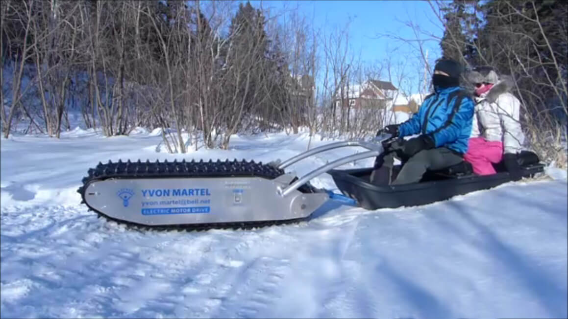 MTT 136 Electric Sled