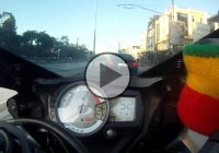 Riding On A GSXR Never Looked More Terrifying!
