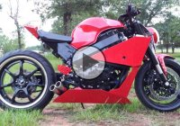 Custom Honda CBR Streetfighter – Project Red Beast!!