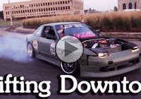 Detroit street drifting – Epic downtown video!