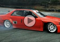 Extreme drifting styles at Sports Land Yamanashi!