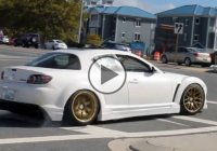Mazda RX8 tries drifting… and fails epically !