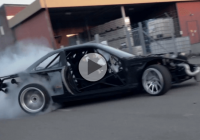 Rickard Ivars tests his mad drift monster!