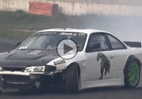 Brutal 600hp Silvia S14 screaming power!