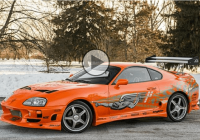 Walker 's Supra from Fast and Furious was sold for $200,000!
