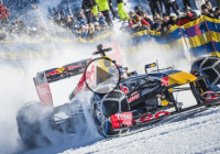F1 on Snow: Max Verstappen hits the slopes in his RB7!