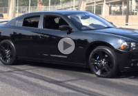 Reckless Dodge Charger crashes while drifting!