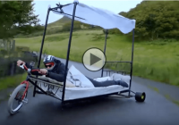 Bed drift trike – Take your bed and start drifting!