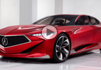 Acura precision concept – Fancy deception or a predictor?