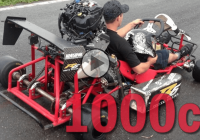 1000cc Go Kart – Mean and as loud as it gets!