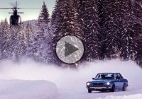 Winter rallying in a Norwegian forest – Brilliant Video!!!