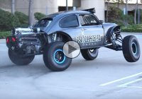 Lifted VW Beetle attacks the streets of San Diego!