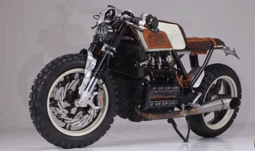 Custom Bmw K100 Cafe Racer By Augh Design Amp Customs