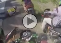 This Is What You Get When You Speed And Ride Like An Idiot – A Motorcycle Rumble!