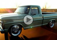 "1968 Ford F100 ""Frankenstein"" for crazy morning drifting!"
