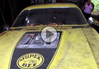 1971 Dodge Superbee is the ideal barn find!
