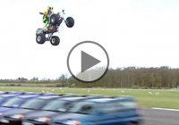 Longest Ramp Jump On A Quad Bike (ATV)!!