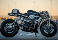 Turbo Charged Harley Street 750 by Cherry's Company!