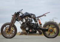 Larry Houghton's Custom 1983 Honda CBX1000!!