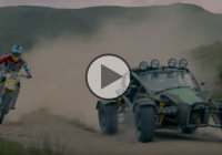 Suzuki Dirt Bike vs Ariel Nomad – What's Faster On Dirt?