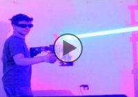 Homemade Laser Shotgun 40watt – Pure Insanity!!