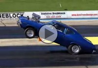 Blown 565CI 1969 Chevelle Insane 200Ft Wheelstand!