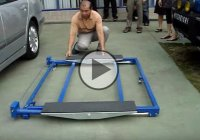 Mini Tilting Lift – A Mechanic's Must Have Tool!!
