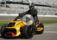 Can Am Spyder F3 turbo concept is a NASCAR-inspired beast