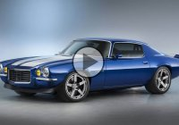 1970 Chevrolet Camaro RS With Supercharged LT4 Concept!