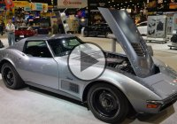 Jimmie Johnson's 1971 Chevy Corvette Concept Is A Modern Classic!