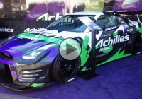 Nissan GTR Achilles with TT-01E chassis is one wild RC drifter!