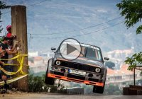 Michel Zgheib climbs the hills of Falougha with his mean BMW E30!
