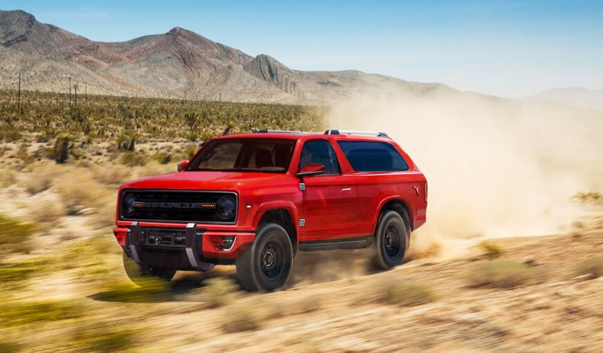 New Ford Bronco! 2020 Ford Bronco concept – it's what we're all ...
