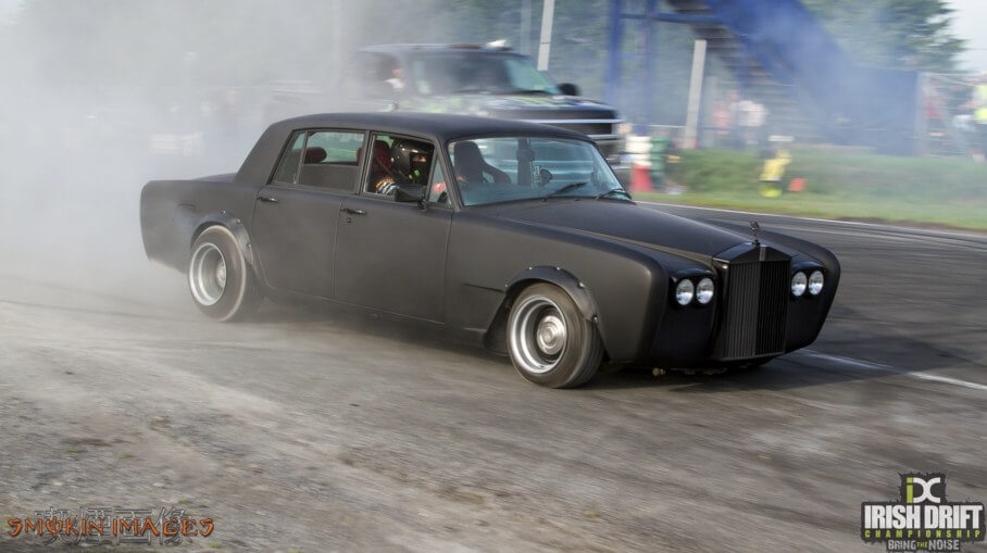 Rolls Royce drift car