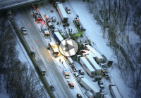 Disastrous 193 vehicle pileup on I-94 Michigan left one person dead