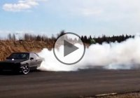V8 powered Monster Mercedes is the coolest drift machine ever