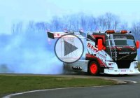Volvo drift truck – the world's first ever!