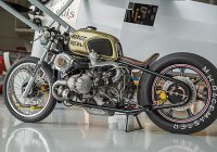 Custom Twin Turbo BMW R100 by Boxer Metal!