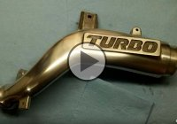 Polishing An Aluminum Turbo Manifold By Hand – It Looks Like New!