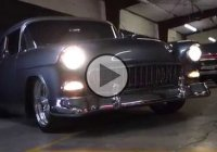 Restored 1955 Chevy Bel Air Hot Rod funny fail!