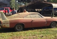 1969 Dodge Daytona Charger barn find, one of the 503 ever made!