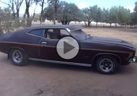 Epic 1975 XB Fairmont coupe found in a barn in Australia!