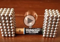 DIY – Make Your Own Electric Motor With Buckyballs!