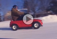 Crazy Wheelies & Drifts With Over Powered Powerwheels!