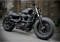 Harley-Davidson Sportster By Rough Crafts – The Bomb Runner!!